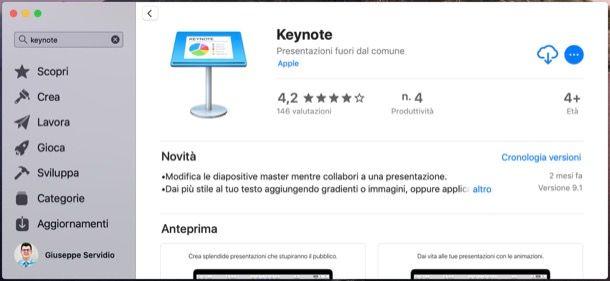 Scaricare iWork per Mac