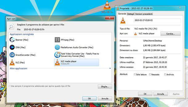 Come aprire file FLV