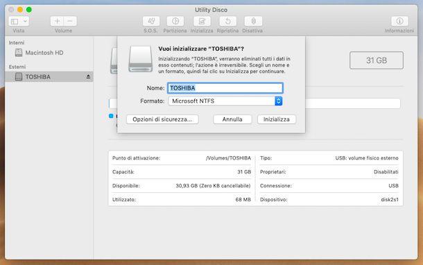 Utility Disco NTFS