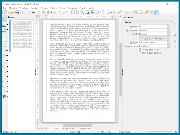 File ODG in LibreOffice
