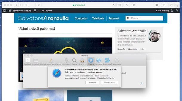 0fc29f45a340 Come bloccare i cookie | Salvatore Aranzulla