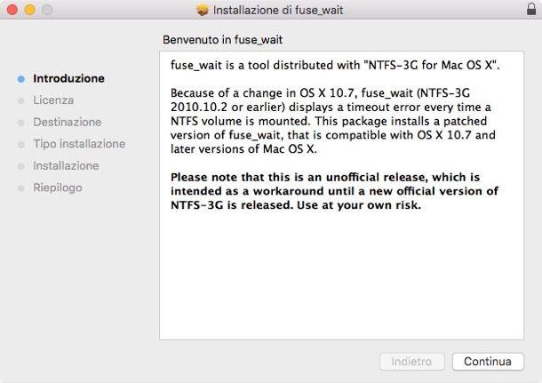 Come leggere NTFS su Mac