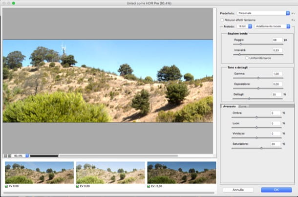 Come fare HDR con Photoshop