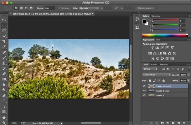 Come fare HDR con Photoshop