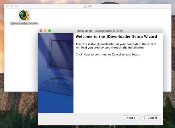 Come usare JDownloader Mac
