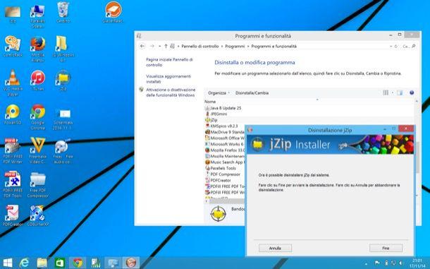Come eliminare jZip Toolbar