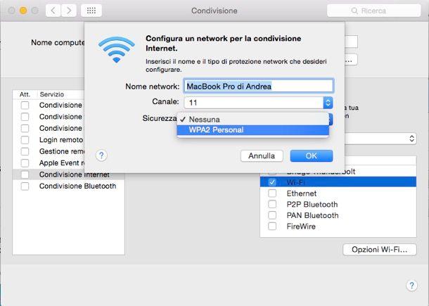 Come usare il PC come router WiFi