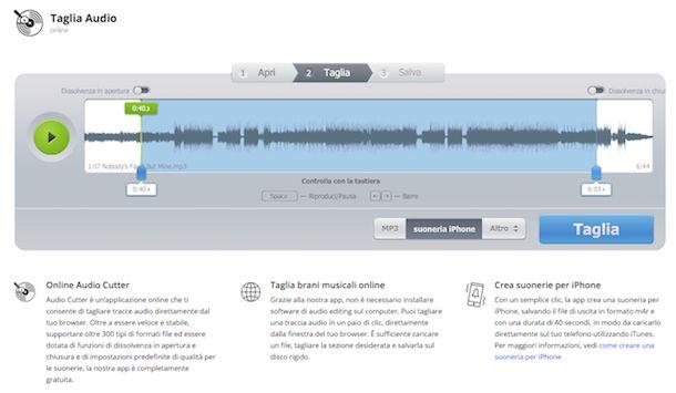 Come impostare MP3 come suoneria iPhone