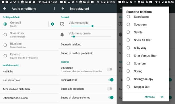 Come impostare MP3 come suoneria Android