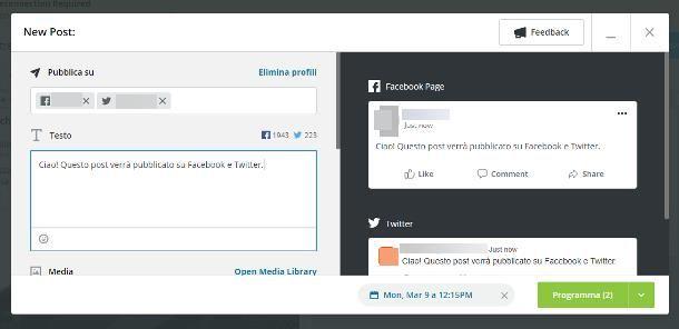 Altre soluzioni per twittare un post di Facebook automaticamente