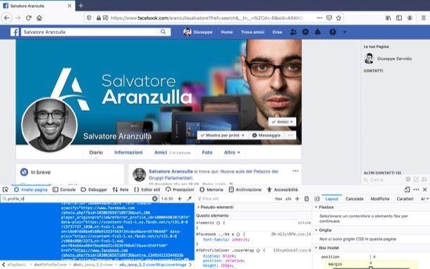 ID Facebook Mozilla