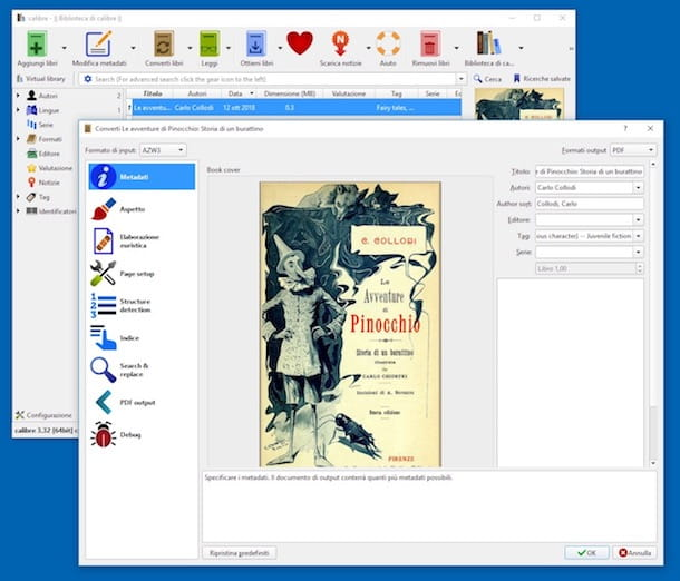 Come convertire AZW in PDF