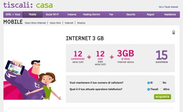 Quale operatore scegliere per Internet mobile