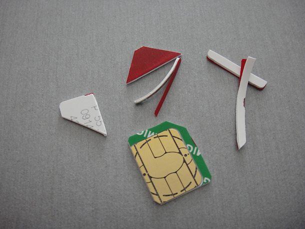 Come adattare SIM a Microsim
