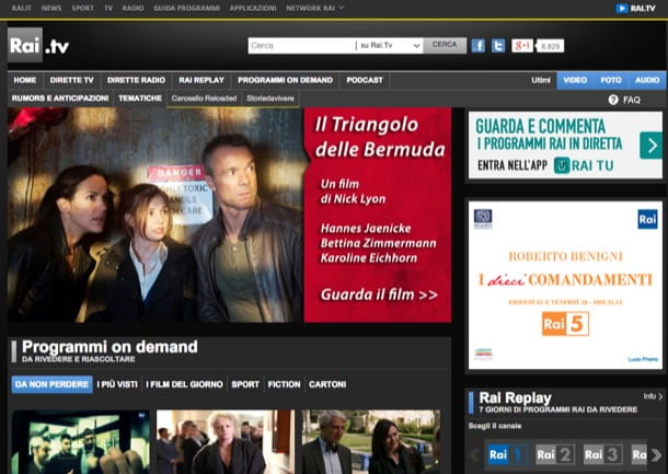 Come guardare la TV sul PC