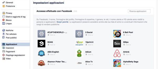 Come togliere la sincronizzazione da Facebook