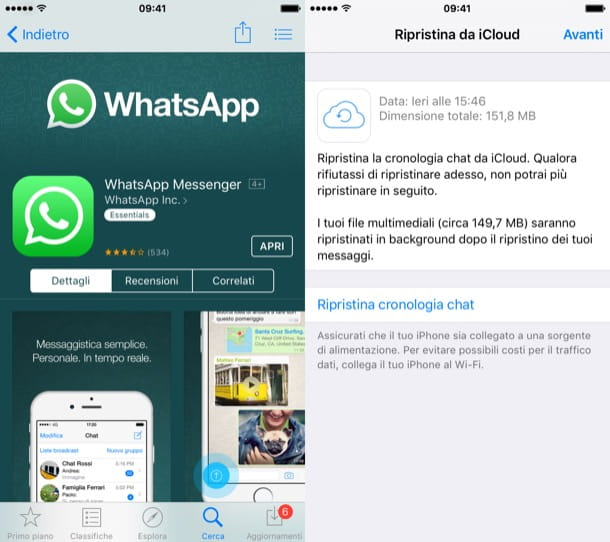Come reinstallare WhatsApp