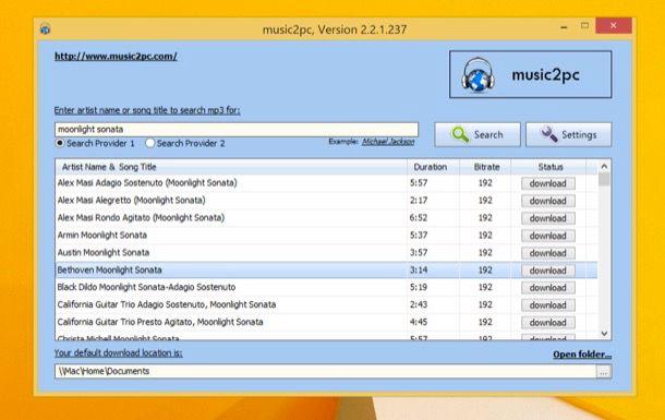 musica gratis sul pc emule