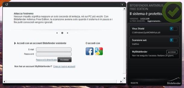Antivirus gratis in italiano