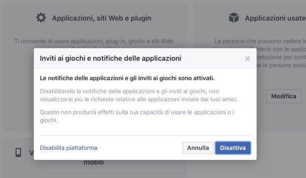 Come bloccare gli inviti ai giochi di Facebook dal computer
