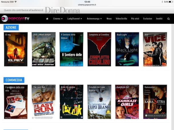 Come vedere film in streaming su iPad