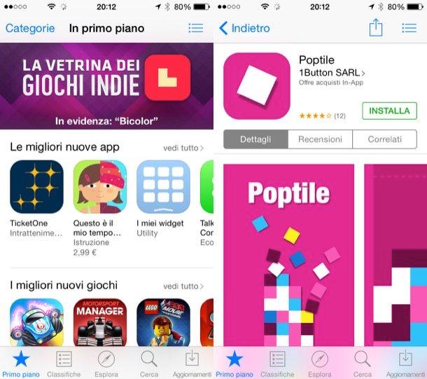 Come tornare all'App Store italiano