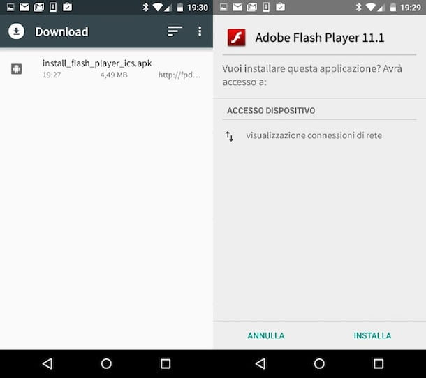 Flash Player per Android
