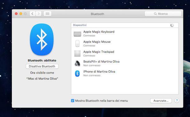 Come attivare il Bluetooth sul PC