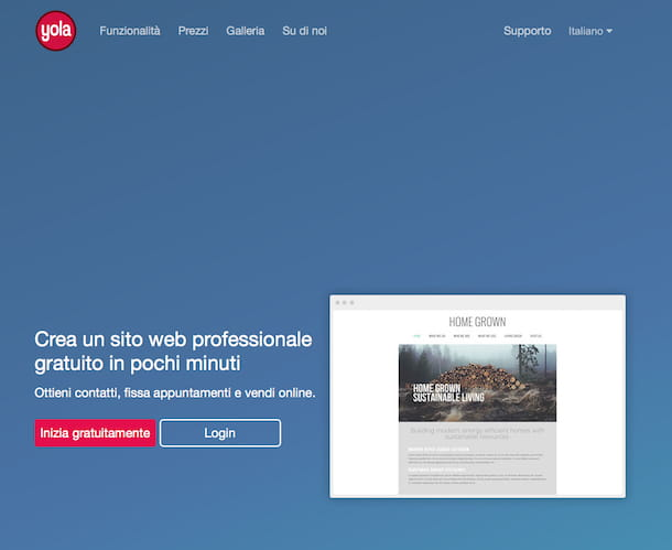 Come creare un sito Web