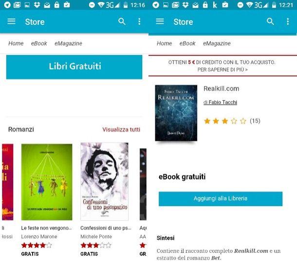 Come scaricare libri gratis su Android