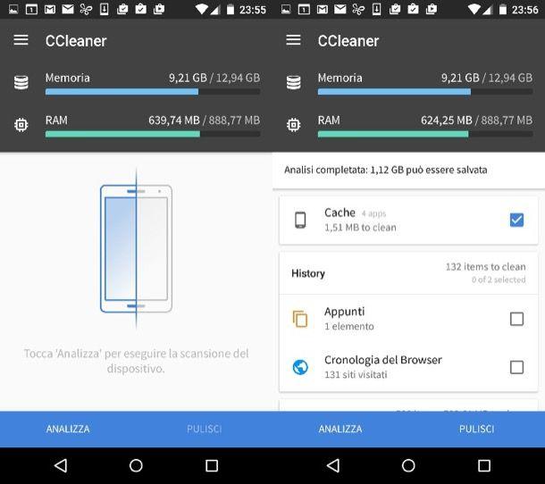 Come svuotare la cache Android