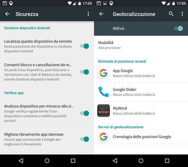 Come ritrovare il cellulare Android