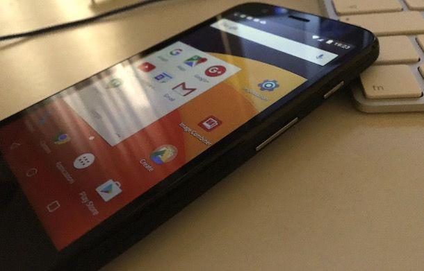 Come fotografare lo schermo Android