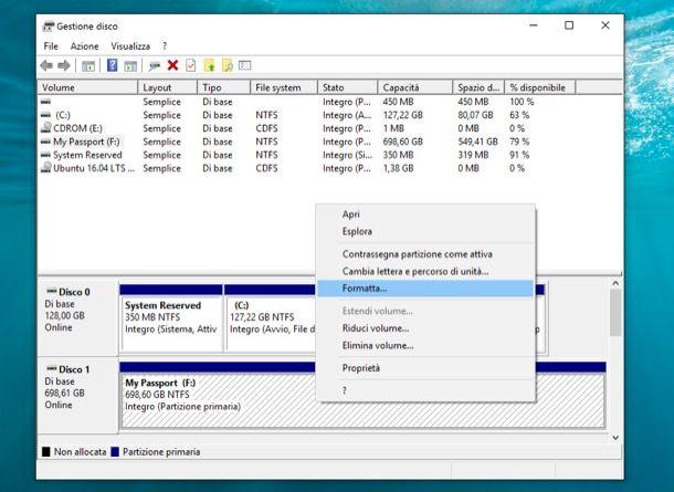 Programmi per formattare hard disk