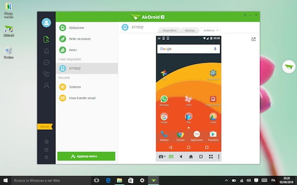 Come collegare Android al PC
