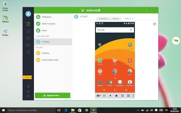 Come collegare Android al PC