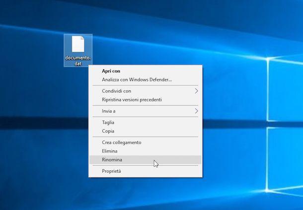 Come aprire file DAT