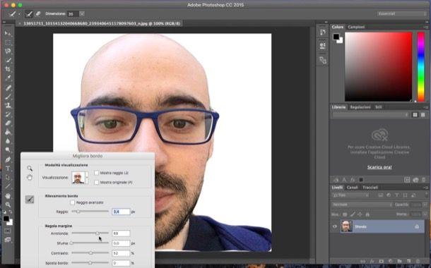 Come rendere trasparente lo sfondo di una immagine