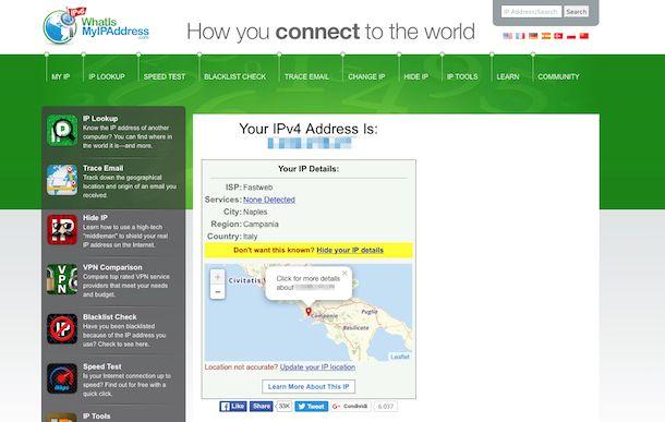 Come visualizzare indirizzo IP
