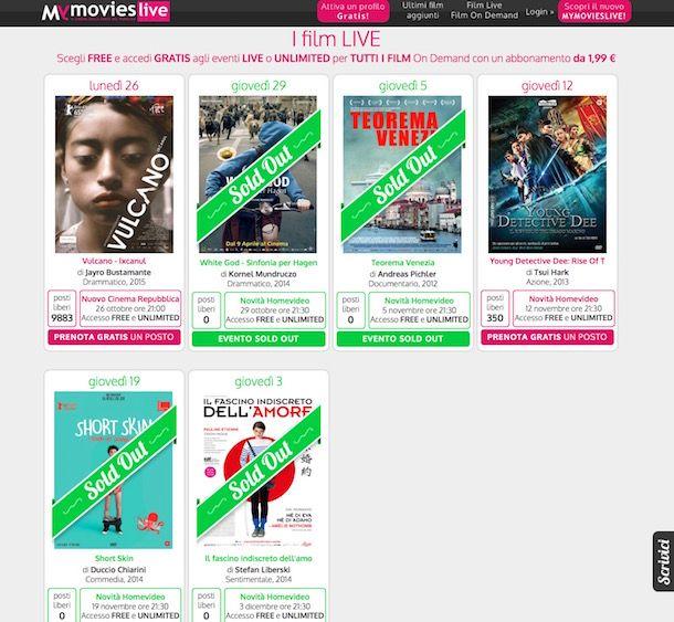 Film streaming gratis italiano senza limiti di tempo