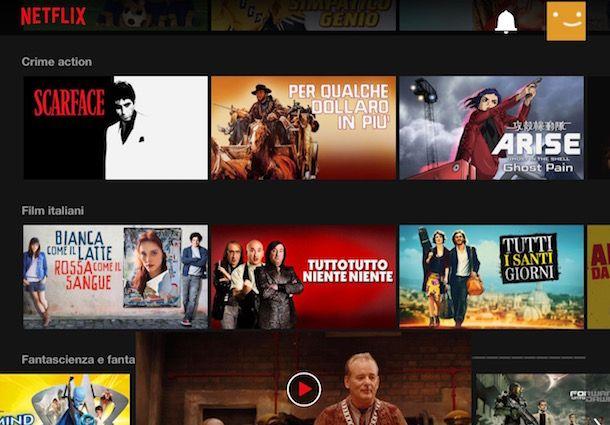 Come guardare film in streaming