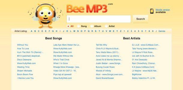 Come scaricare musica gratis sul cellulare