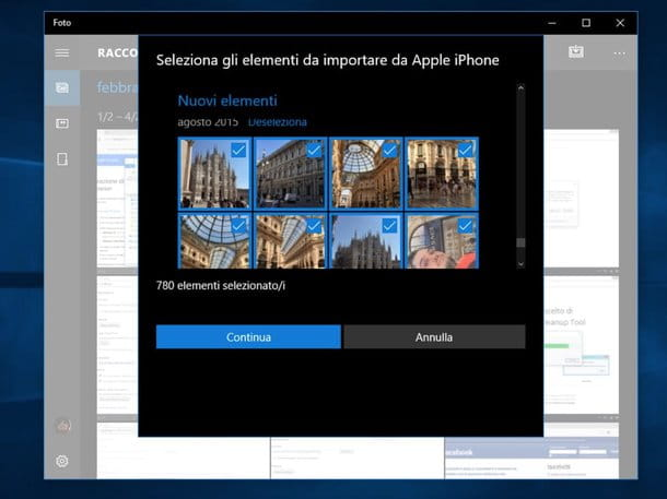 Come trasferire foto da iPhone a PC