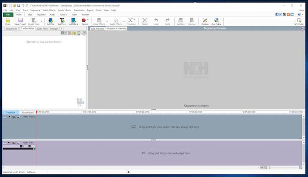 Programmi per editing video gratis