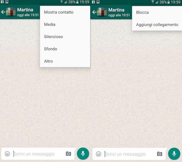 Come bloccare su WhatsApp