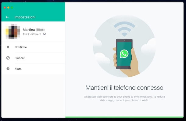 Come bloccare su WhatsApp