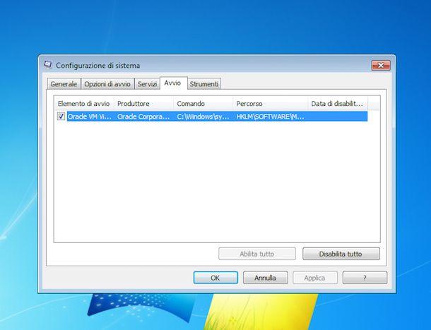 Come velocizzare Windows 7