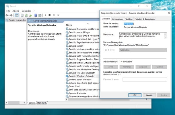 Come attivare Windows Defender