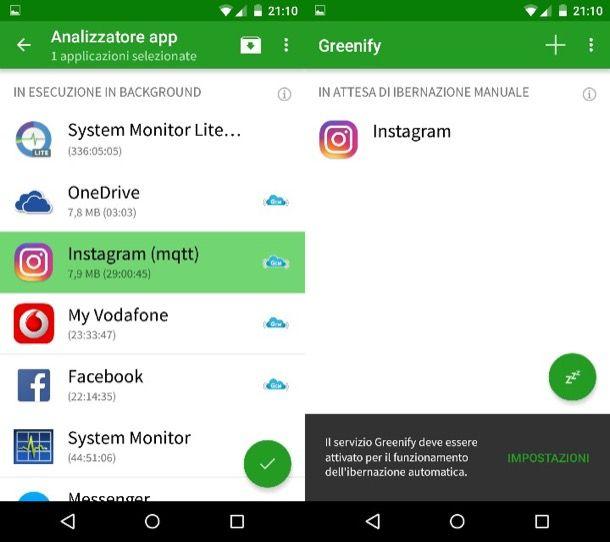 Come chiudere applicazioni Android