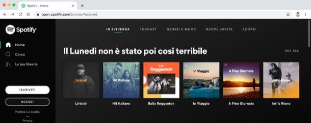 Spotify Web